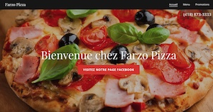 Pizzeria Farzo Pizza - Capitale-Nationale, Pont-Rouge