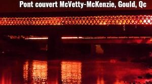 Pont Couvert McVetty-McKenzie de Gould - Estrie / Canton de l'est, Canton de Lingwick
