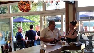Restaurant Capitaine Provost (Auberge & Chalets sur le Lac) - Estrie / Canton de l'est, Frontenac (M)