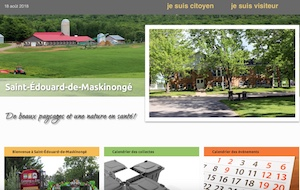 Municipalité de saint-Édouard-de-Maskinongé - Mauricie, Saint-Édouard-de-Maskinongé