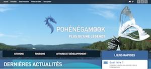 Municipalité Pohénégamook - Bas-Saint-Laurent, Pohénégamook