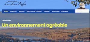 Municipalité de Lac-des-Aigles - Bas-Saint-Laurent, Lac-des-Aigles