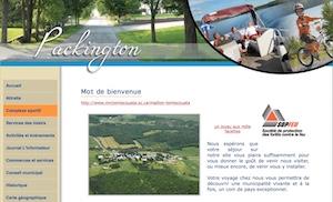 Municipalité de Packington - Bas-Saint-Laurent, Packington