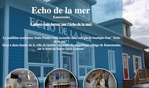 Echo de la mer - Bas-Saint-Laurent, Kamouraska (M)