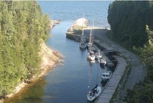 Quai de l'Anse à la Barbe - Gaspésie, Port-Daniel - Gascons