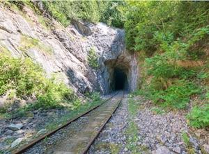 Tunnel ferroviaire de Port-Daniel–Gascons - Gaspésie, Port-Daniel - Gascons