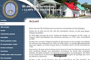 Municipalité de Saint-Jean-de-l'Île-d'Orléans - Capitale-Nationale, (M) Saint-Jean-de-l'Île-d'Orléans