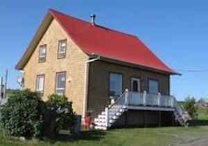 La maison de Médé - Bas-Saint-Laurent, L'Île-Verte