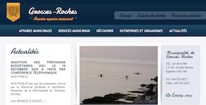 Municipalité de Grosses-Roches - Gaspésie, Grosses-Roches