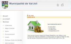 Municipalité de Val-Joli - Estrie / Canton de l'est, Val-Joli