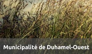 Municipalité de Duhamel-Ouest - Abitibi-Témiscamingue, Duhamel-Ouest