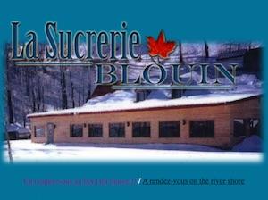 Sucrerie Blouin (Érablière) (Cabane à Sucre) - Capitale-Nationale, (M) Saint-Jean-de-l'Île-d'Orléans