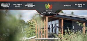 Domaine Cartier-Potelle - Montérégie, Rougemont