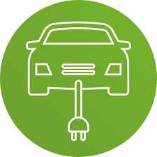 Borne de recharge de véhicules électriques - Capitale-Nationale, Saint-Pierre-de-l'Île-d'Orléans