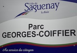 Halte routière parc Georges Coiffier - Saguenay-Lac-Saint-Jean, Saguenay (Saguenay) (V) (La Baie)