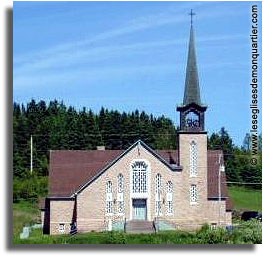 Église catholique Notre-Dame-du-Mont-Carmel - Gaspésie, Port-Daniel - Gascons