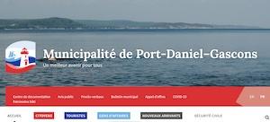 Municipalité de Port-Daniel - Gascons - Gaspésie, Port-Daniel - Gascons