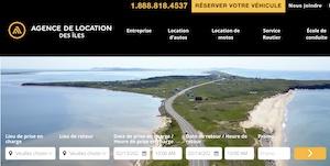 Agence de Location des Îles - Îles-de-la-Madeleine, Cap-aux-Meules