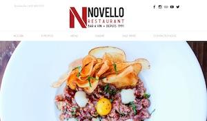 Restaurant Novello - Montérégie, Longueuil (Boucherville)
