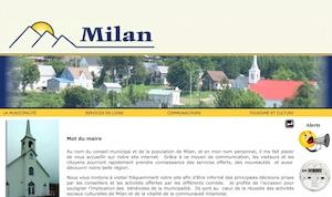 Municipalité de Milan - Estrie / Canton de l'est, Milan (M)