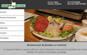 Le restaurant Meule et Caquelon - Outaouais, Gatineau