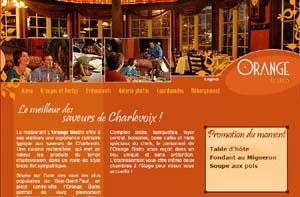 Restaurant l'Orange Bistro - Charlevoix, Baie-Saint-Paul