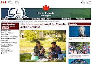 Lieu historique national du Canada Cartier-Brébeuf (Parc Canada) - Capitale-Nationale, Ville de Québec (V)