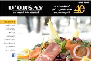 D'Orsay Restaurant-Pub - Capitale-Nationale, Ville de Québec (V)