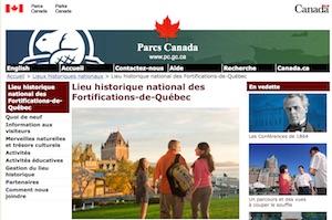 Lieu historique national du Canada des Fortifications-de-Québec (Parc Canada) - Capitale-Nationale, Ville de Québec (V)