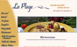 Motel Restaurant de la Plage - Chaudière-Appalaches, Berthier-sur-Mer (Montmagny)
