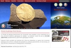 Musée de géologie René-Bureau - Capitale-Nationale, Ville de Québec (V)