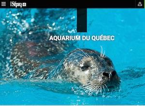 Parc Aquarium du Québec - Capitale-Nationale, Ville de Québec (V) (Sainte-Foy)