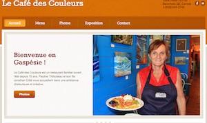 Café Couleurs - Gaspésie, Percé (Barachois)