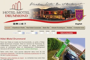 Hôtel Motel Drummond - -Centre-du-Québec-, Drummondville