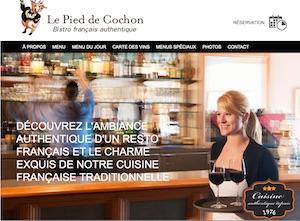 Restaurant Le Pied de Cochon - Outaouais, Gatineau (Hull)