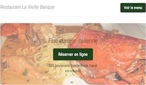Restaurant La Vieille Banque - Laval, Laval (Sainte-Rose)