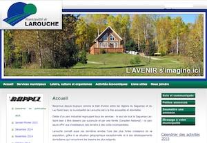 Municipalité de Larouche - Saguenay-Lac-Saint-Jean, Larouche (Saguenay)