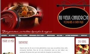 Restaurant Au Vieux Chaudron - Outaouais, Saint-André-Avellin
