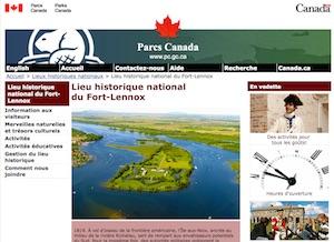 Lieu historique national du Fort-Lennox (Parcs Canada) - Montérégie, Saint-Paul-de-L'Île-aux-Noix