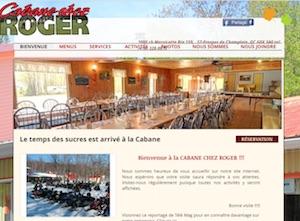 Cabane Chez Roger - Mauricie, Saint-Prosper-de-Champlain