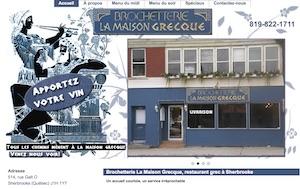 Brochetterie La Maison Grecque - Estrie / Canton de l'est, Sherbrooke