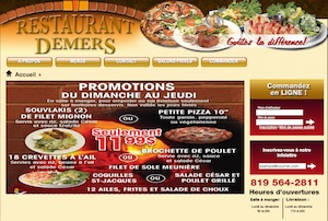 Restaurant Demers - Estrie / Canton de l'est, Sherbrooke