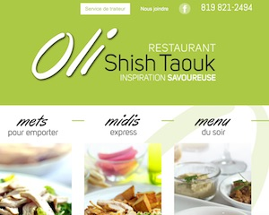 Restaurant Oli Shish Taouk - Estrie / Canton de l'est, Sherbrooke