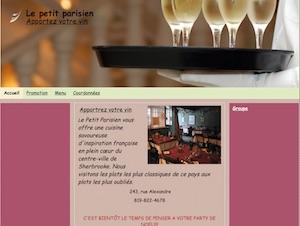 Restaurant et traiteur Le Petit Parisien - Estrie / Canton de l'est, Sherbrooke