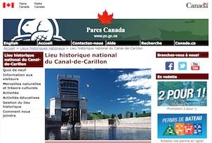 Lieu historique national  du Canal-de-Carillon (Parcs Canada) - Laurentides, Saint-André-Argenteuil