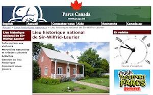 Lieu historique national de Sir-Wilfrid-Laurier (Parcs Canada) - Lanaudière, Saint-Lin Laurentides