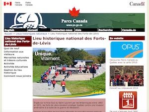 Lieu historique national du Canada des Forts-de-Lévis - Chaudière-Appalaches, Lévis (Lévis)