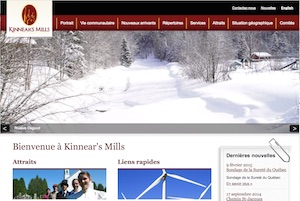 Municipalité Héritage Kinnear's Mill - Chaudière-Appalaches, Kinnear s Mills (Région de Thetford)