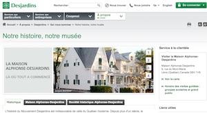 Maison Alphonse-Desjardins - Chaudière-Appalaches, Lévis (Lévis)