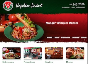 Restaurant Resto Pub Napoléon Pacino - Saguenay-Lac-Saint-Jean, Saguenay (Saguenay) (V) (Chicoutimi)